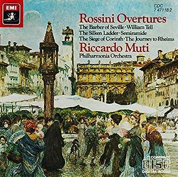 Rossini;Overtures