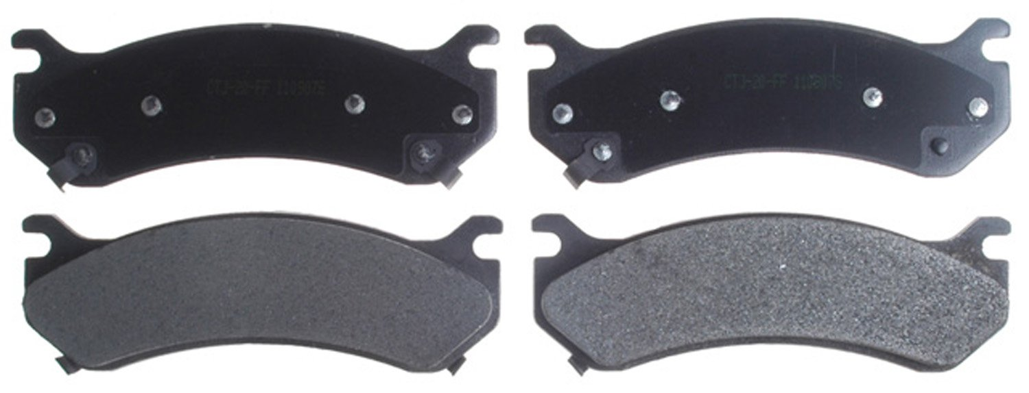 ACDelco 14D785MH Advantage Front Disc Brake Pad Set with Hardware
