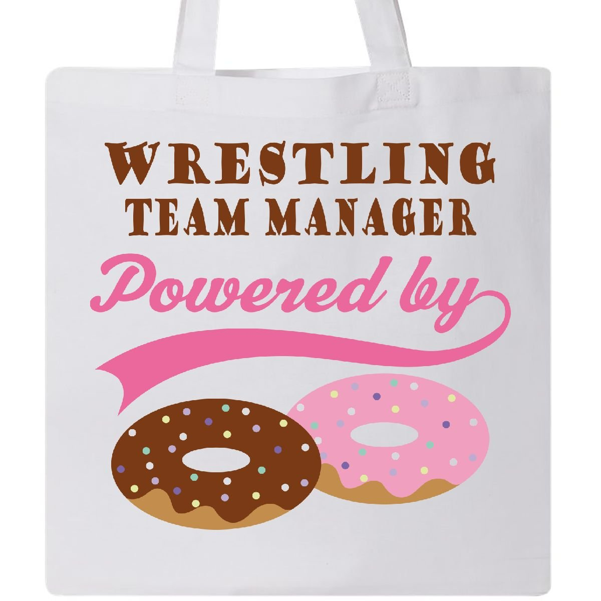 Inktastic - Wrestling Team Manager Humor Tote Bag White e608