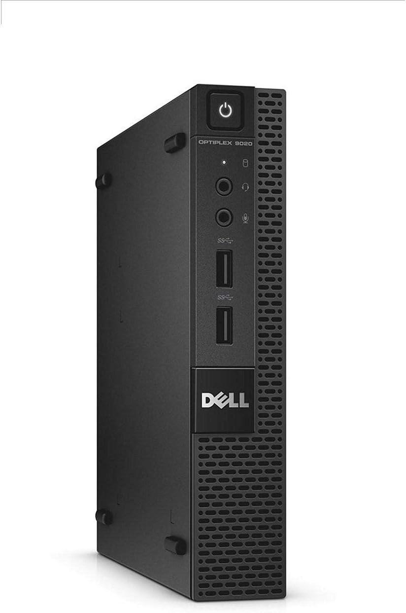 Dell Optiplex 9020 Micro Desktop Core i7-4770T 2.5GHz 16GB 512GB SSD Wi-Fi Win 10 Pro (Renewed)