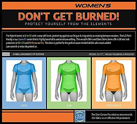 Short Sleeve Sun Shirt ONeill Womens Hybrid Upf 50