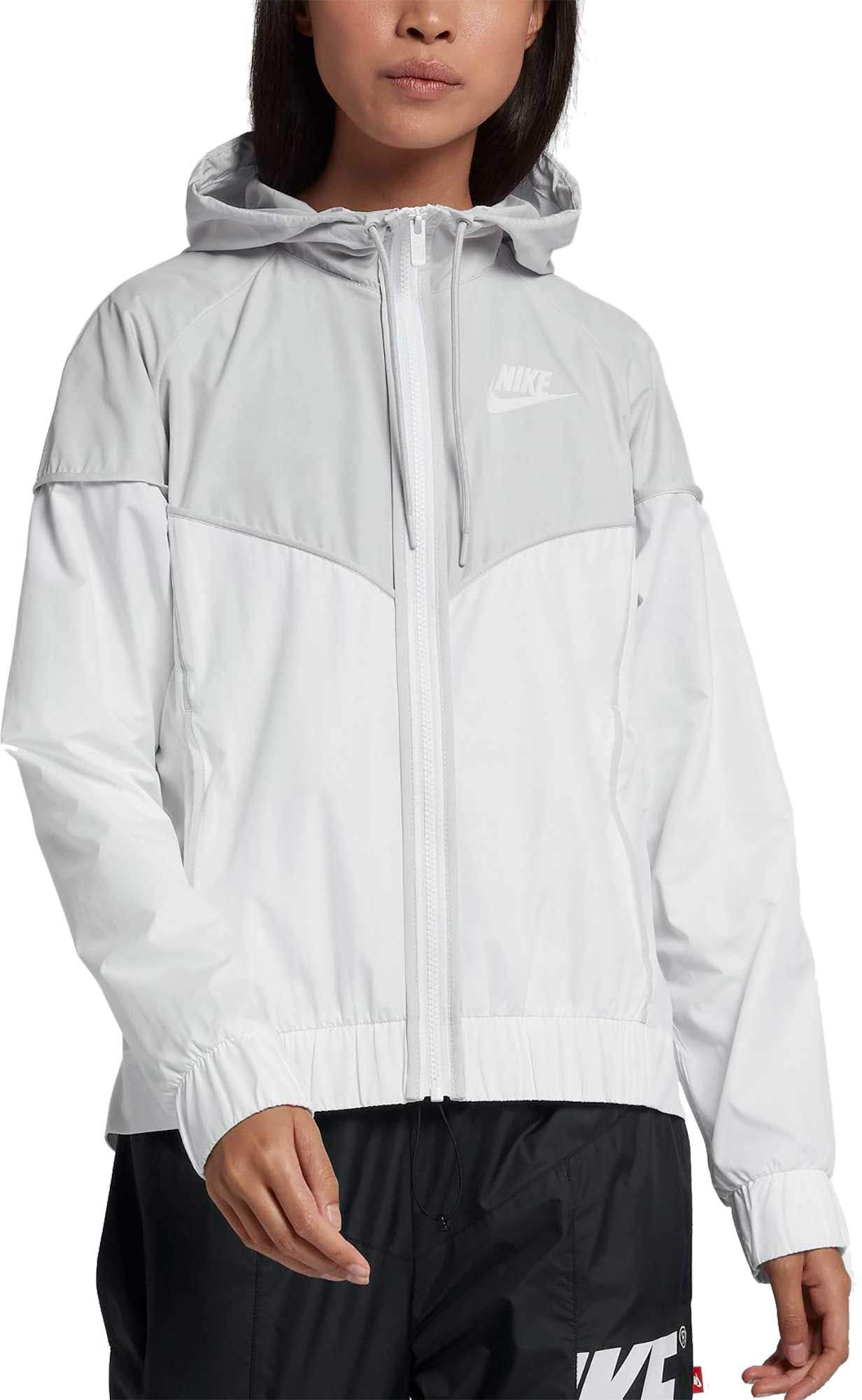 Nike Women's Sportswear Windrunner Jacket (Vast Grey, X-Small)