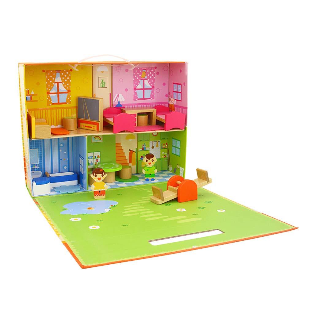 e53d4e9c7e ... HXGL-giocattoli I blocchetti del Giocattolo di di di Legno dei Bambini  Hanno Montato Il ...
