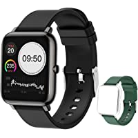 """feifuns Smart Watch,1.3"""" LCD Full Touch Screen Fitness Tracker with Heart Rate/Blood Pressure/Blood Oxygen Monitor…"""