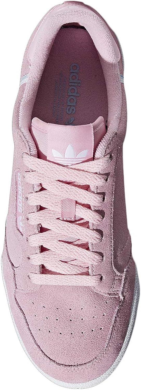 adidas Damen Continental 80 W Fitnessschuhe True Pink Periwinkel Weiß