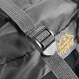 60L Waterproof Backpack, Ultra Lightweight Packable Climbing Fishing Traveling Backpack Hiking Daypack,Handy Foldable Camping Trekking Outdoor Rucksack Bag