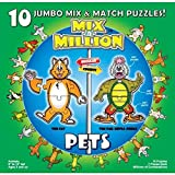 Pets Mix-A-Miillion 10 Jumbo Mix & Match Puzzles