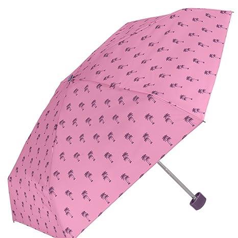 Paraguas ultraligero plegable - Súper mini plano Perletti - Paraguas de mujer compacto de viaje y