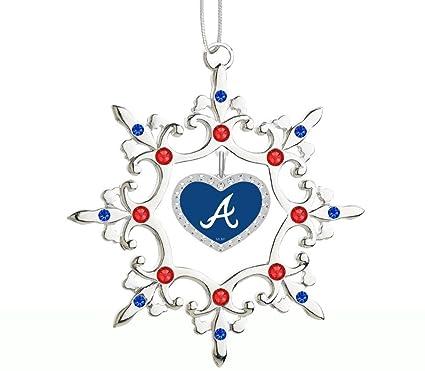 Atlanta Braves Christmas Tree Ornament - Amazon.com : Atlanta Braves Christmas Tree Ornament : Sports & Outdoors
