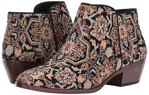 Turkish Sam Boots Women's multi Petty Tapestry Ankle Black Edelman nqwq1C4r0