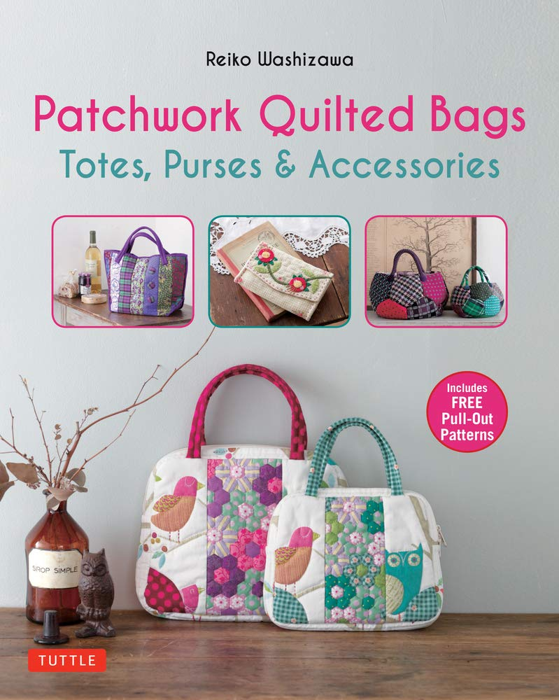quilted patchwork bag