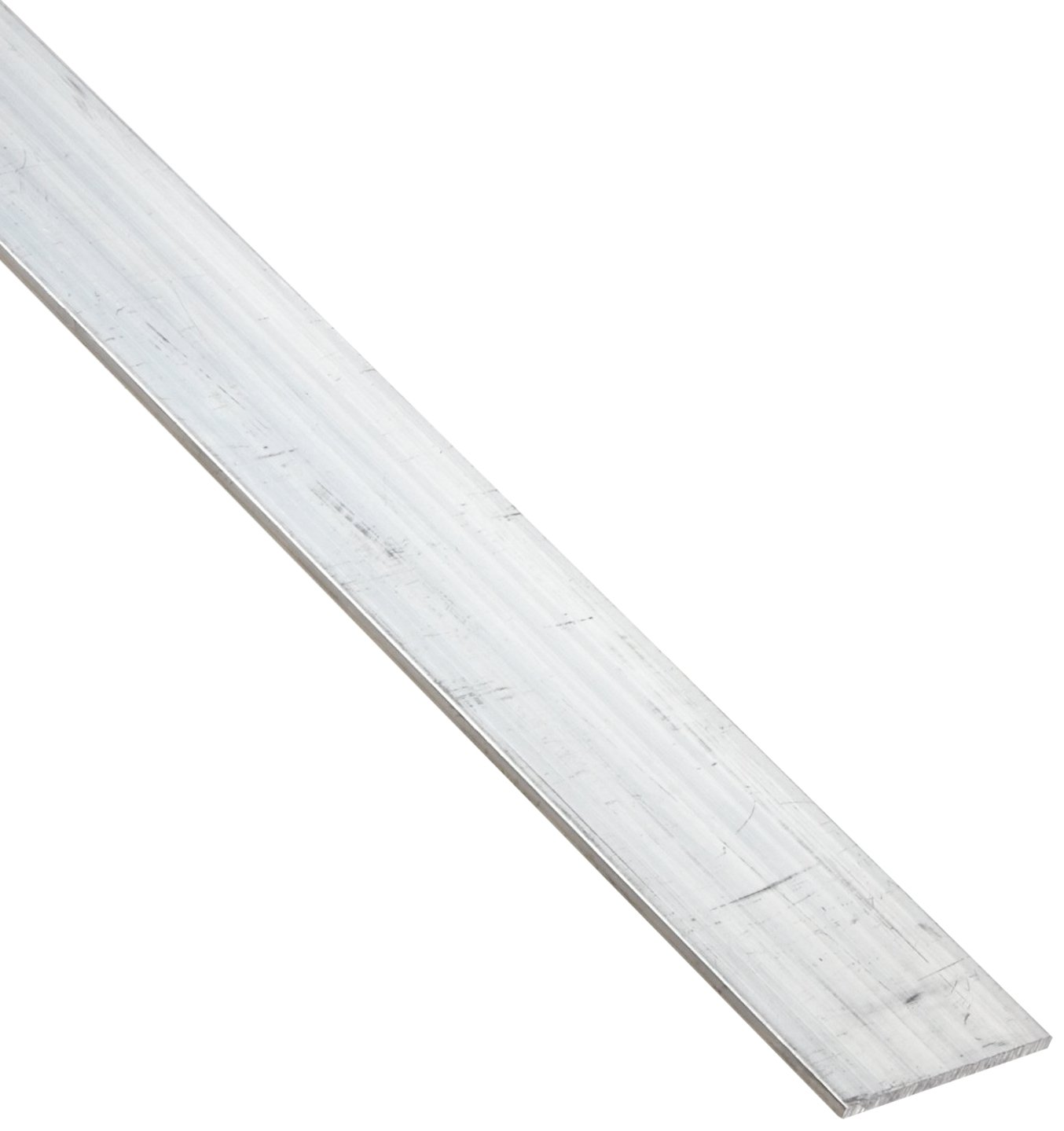 Unpolished Finish Mill 24 Length 6061 Aluminum Rectangular Bar Extruded 3//4 Width 1//8 Thickness T6511 Temper ASTM B221