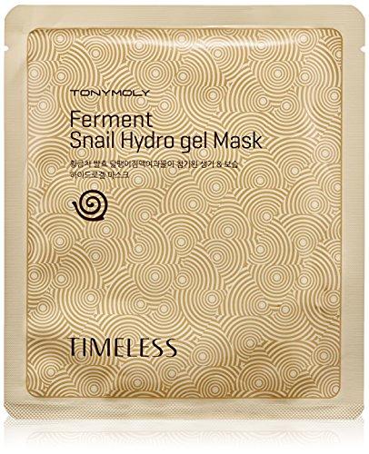 TONYMOLY Timeless Ferment Snail Gel Mask (Tony Moly Intense Care Snail Hydro Gel Mask)