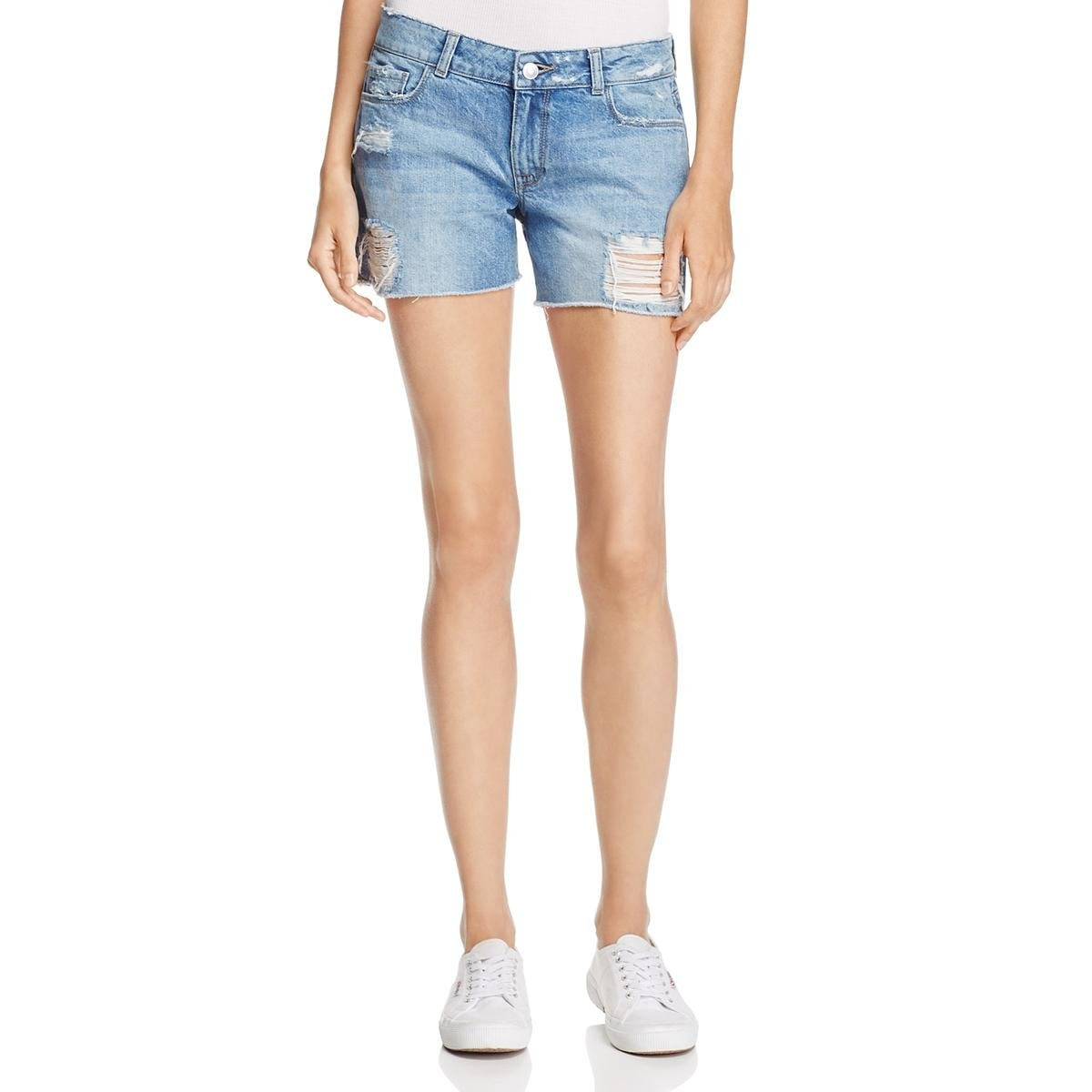 DL1961 Women's Karlie Boyfriend Shorts, Sprawling, 32