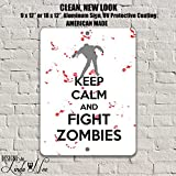 Zombie Decor, Zombie Wall Art, Zombies, Gift for Gamers, Gaming Decor, Metal Wall Art, Metal Signs, Home Decor, Door Sign, Game Room