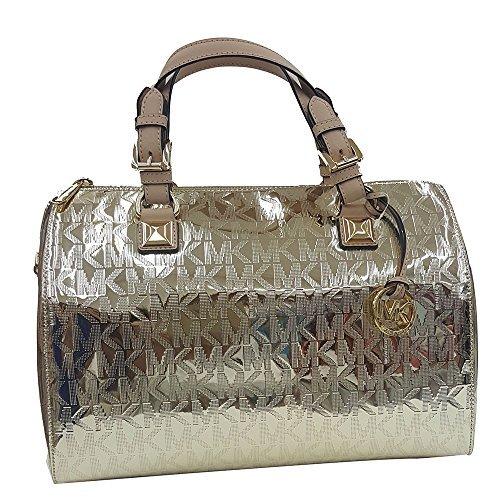 Michael Kors Metallic Handbag - 3
