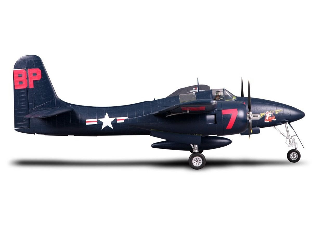 FMS F7F Tiger Cat 1700mm RC Airplane