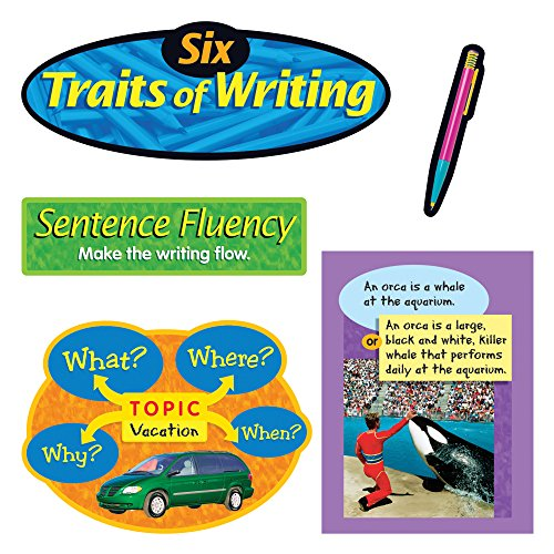 TREND enterprises, Inc. Six Traits of Writing Bulletin Board Set by Trend Enterprises Inc