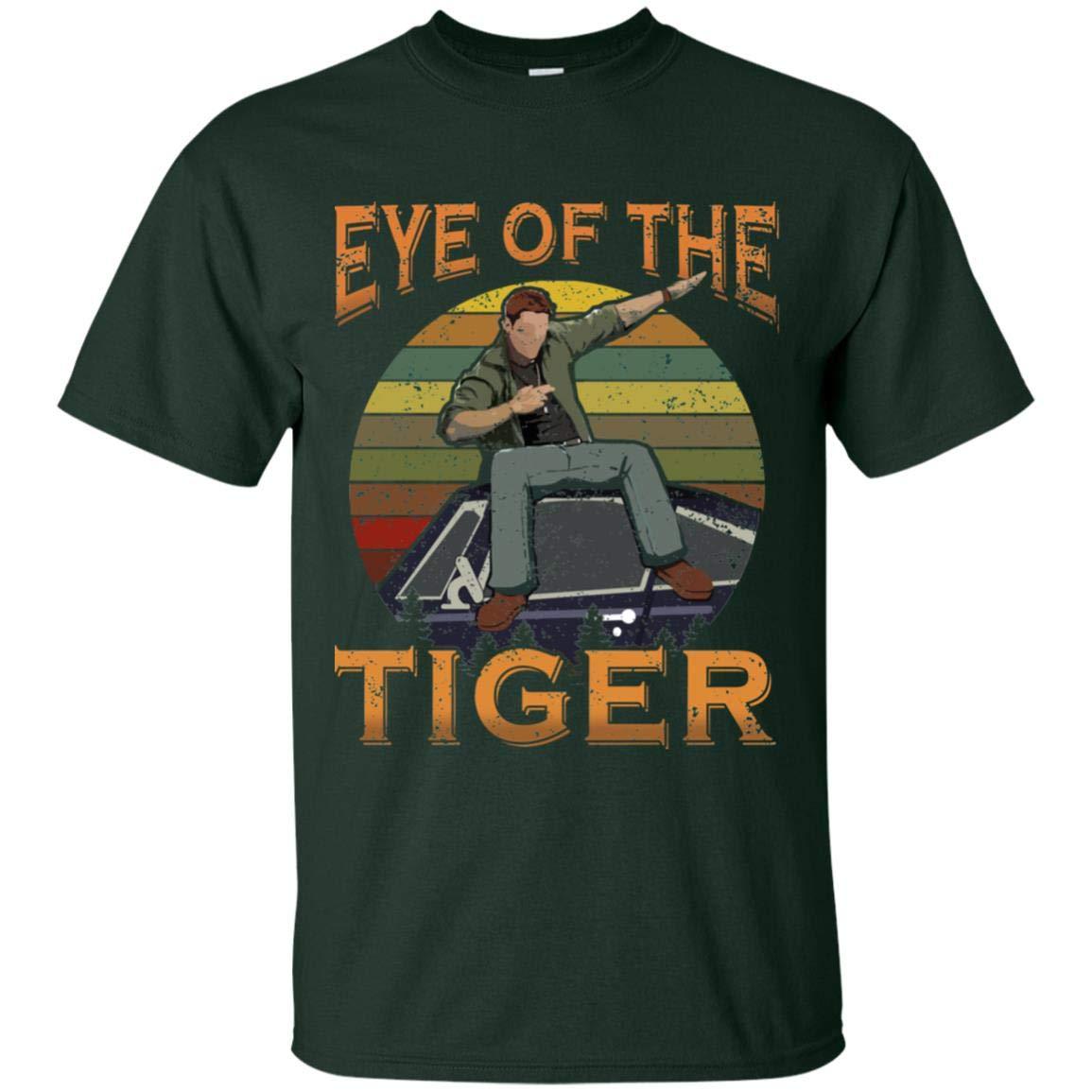 Eye Of The Tiger Vintage Retro Natural T Shirt