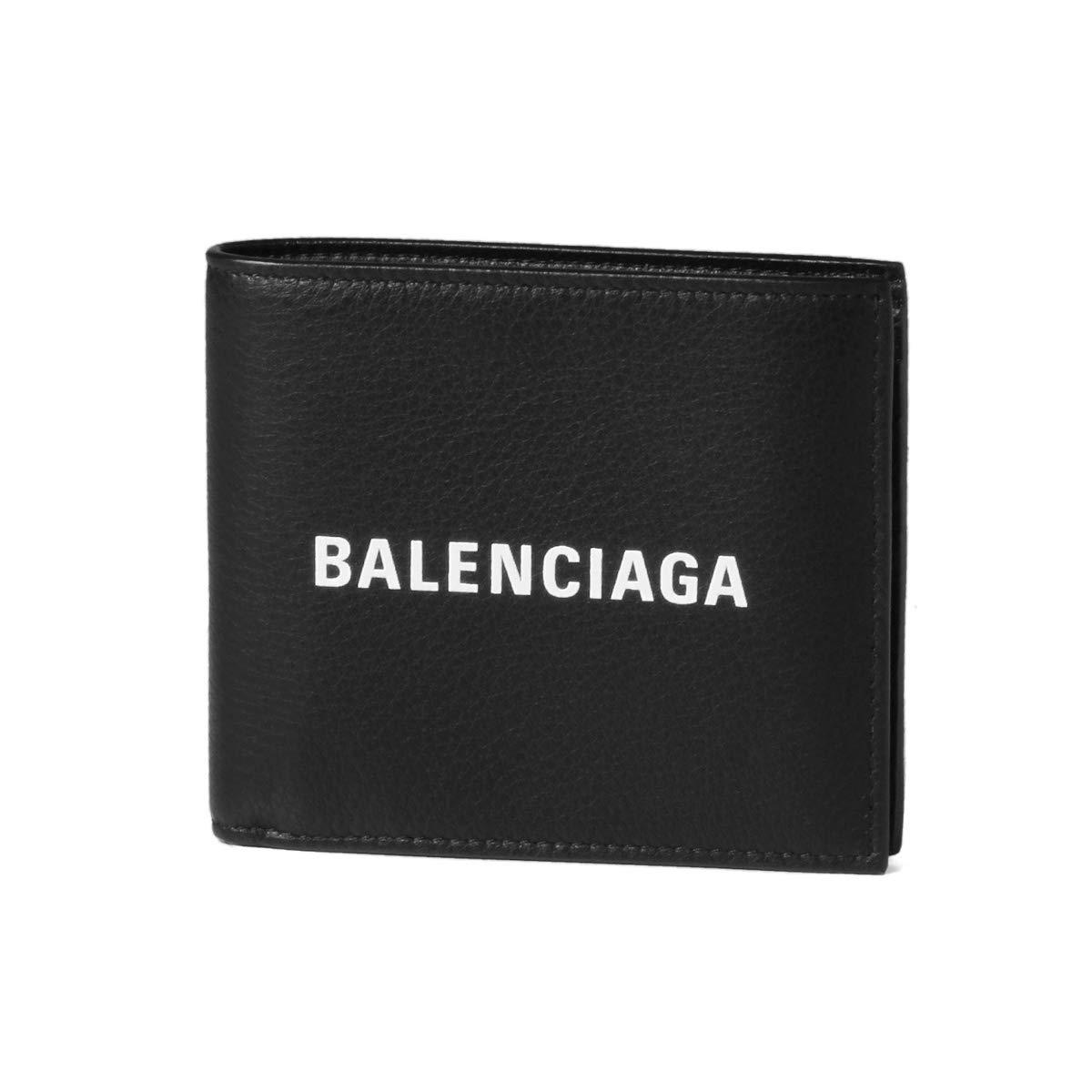 (バレンシアガ) BALENCIAGA 二つ折り財布 EVERYDAY ブラック 485108 DLQHN 1060 [並行輸入品] B07KP1JP76
