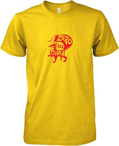Texlab Zero Fox-Herren T-Shirt Camiseta, Hombre, Amarillo, Medium: Amazon.es: Deportes y aire libre