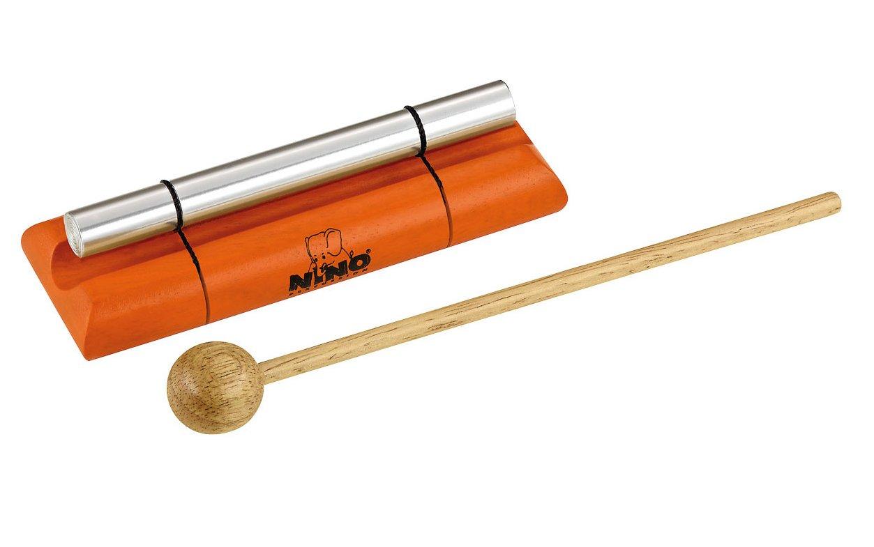 Nino Percussion NINO579S-OR Small Handheld Energy Chime, Orange Meinl