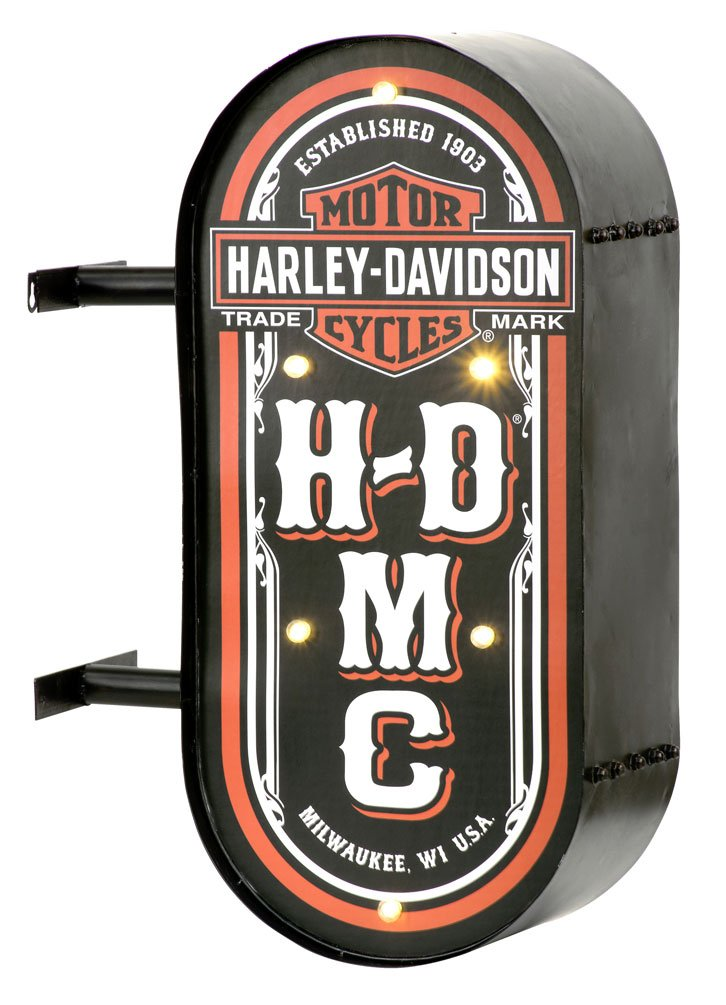 Harley Davidson HDMC Marquee Pub Sign by Harley RoadHouse