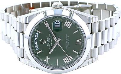 ロレックス ROLEX デイデイト 40 228206 オリーブグリーンローマ文字盤 新品 腕時計 メンズ (W194296) [並行輸入品]