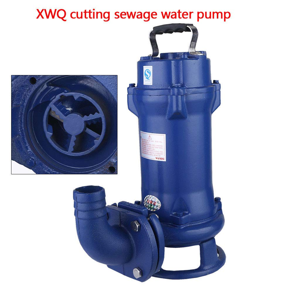 Sewage Pump, Pool Pond Flood Submersible Water Pump 1100w 110V Low Energy Consumption for Factories,Hospitals,Residential Sewage Discharges. by GDAE10 (Image #4)
