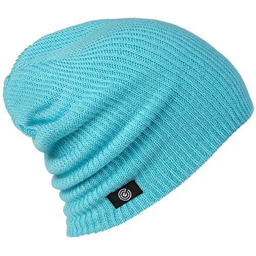 Teal Knit Hat - Revony Evony Daily Light Warm Beanie - Teal