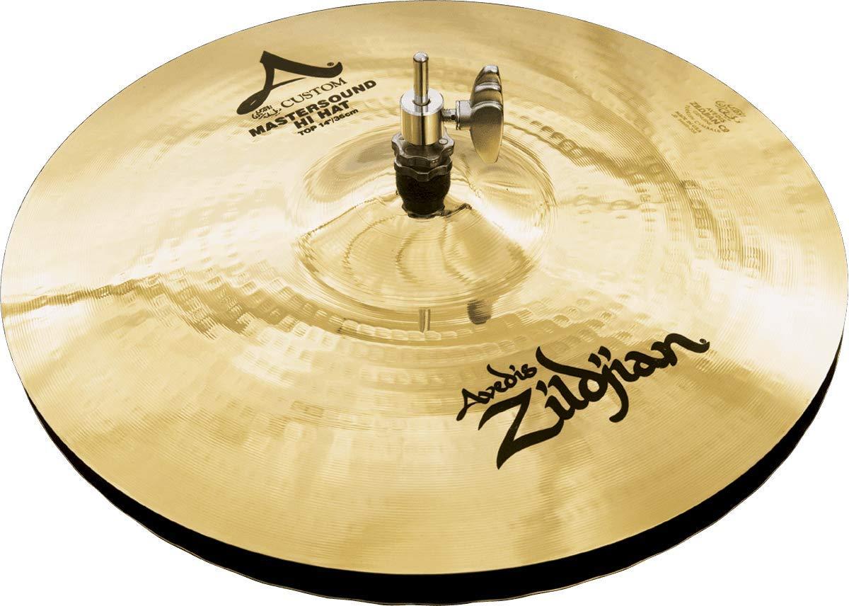 Zildjian A Custom 14'' Mastersound Hi Hat Cymbals Pair by Avedis Zildjian Company