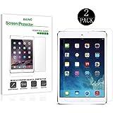 [2-Pack] RKINC Tempered-Glass Screen Protector for iPad Mini/iPad Mini 2 / iPad Mini 3 with Retina Display - Premium Crystal Clear (Not Compatible with iPad Mini 4)