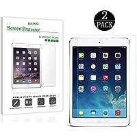 RKINC [2-Pack] iPad Mini 4Protector de visualización de Vidrio, Vidrio Templado Protector de visualización para Apple iPad Mini 40,33mm 2.5d Redondeado Borde (2-Pack)