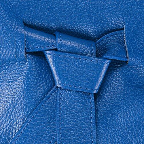 Modèle Bleu Noody Sac OH Roi Main femme à CUIR MY BAG qaAwH01