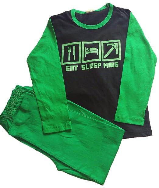 Pijama de mangas largas para niños y para niñas, diseñ