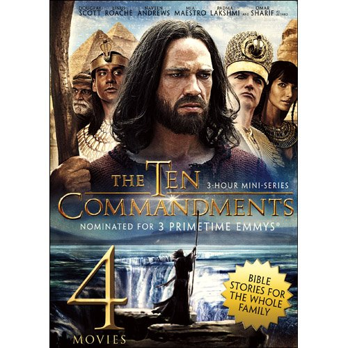 - 4-Movie Bible Story Collection V.1: The Ten Commandments / Joseph and His Brethren / The Great Commandment / David and Goliath