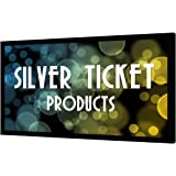 "STR-169135-WAB Silver Ticket 4K Ultra HD Ready Cinema Format (6 Piece Fixed Frame) Projector Screen (16:9, 135"", Woven Acoustic Material)"
