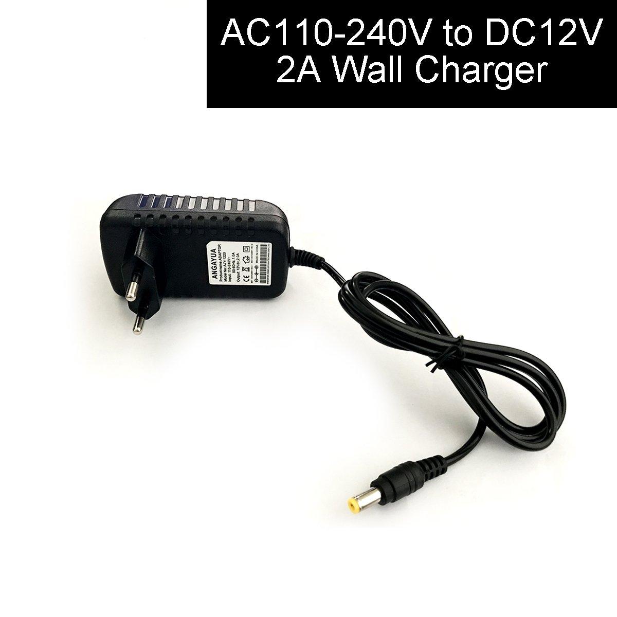 Cocar DC CC 5.5x2.1mm 1 Hembra a 8 Macho Power Cable Divisor Adaptador Convertidor para Coche Cá mara Visió n Trasera de Seguridad Monitor CCTV Luces LED