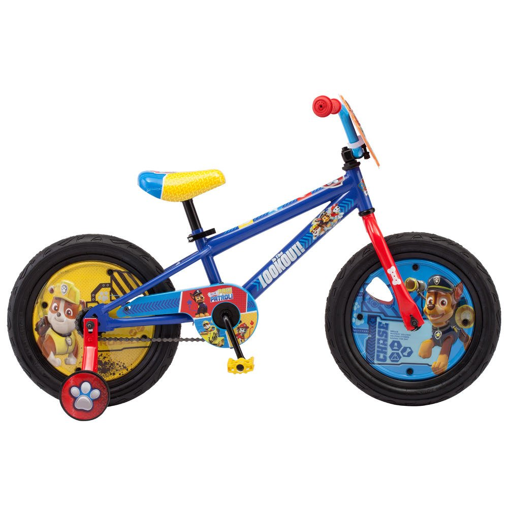 16インチ 男の子用自転車 ニコロデオン パウパトロール   B07FMG7H43