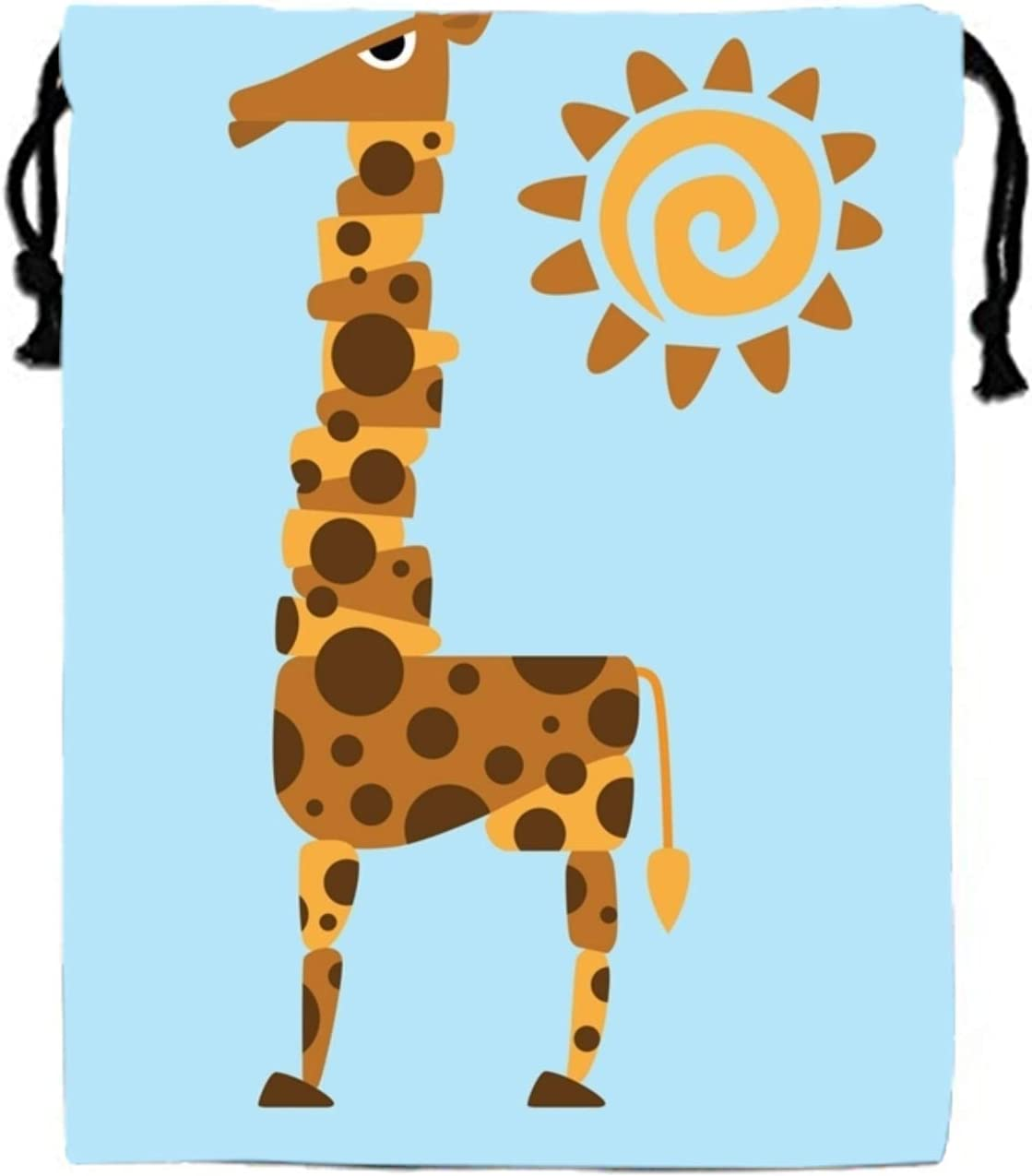 Giraffe And Sun Party Favors Bags,Treat Goodie Bags for Kids