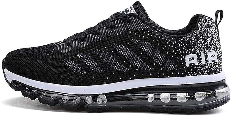 Zapatillas de Deportes Hombre Mujer Zapatos Deportivos Aire Libre para Correr Calzado Sneakers Gimnasio Casual: Amazon.es: Zapatos y complementos