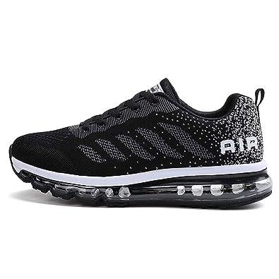 8cc4d16479 TORISKY Unisex Sportschuhe Herren Damen Laufschuhe mit Luftpolster  Turnschuhe Sneakers Air Schuhe Trainer Leichte Profilsohle(