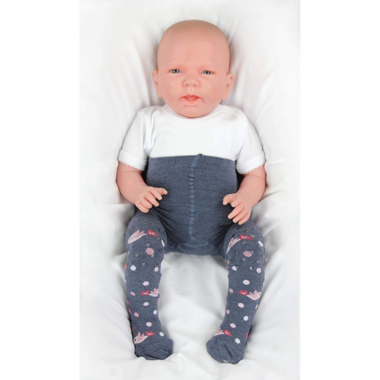 TupTam Baby M/ädchen Krabbelstrumpfhose Antirutsch 2er Pack