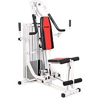 SportPlus - Appareil de Musculation/Home Gym - Presse pour Pectoraux, Butterfly, Poulie haute et Leg curl - Home Gym complet - Plusieurs Modèles disponibles !