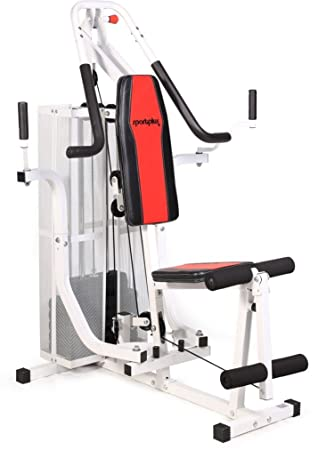 Sportplus multi gym for low ceiling height approx. height of the