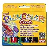 play color paint sticks - Playcolor Set Of 6 Colors