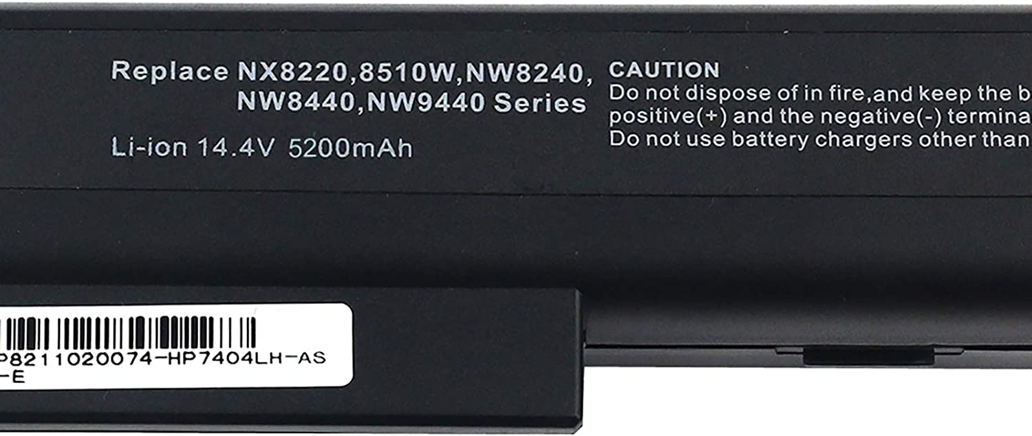 Superb Choice Laptop Replacement Battery For Hp Compaq 8510 395794 422 Nc8200 Nc8230 Nc8430 Nx9400 Nx9420 Computers Accessories Amazon Com