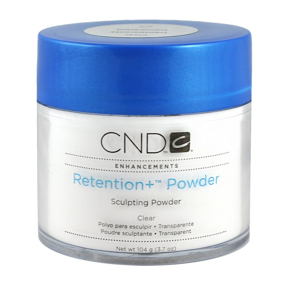 Creative Nail Retention Powder False Nails, Clear, 3.7 Ounce CND Nail Products CND50137