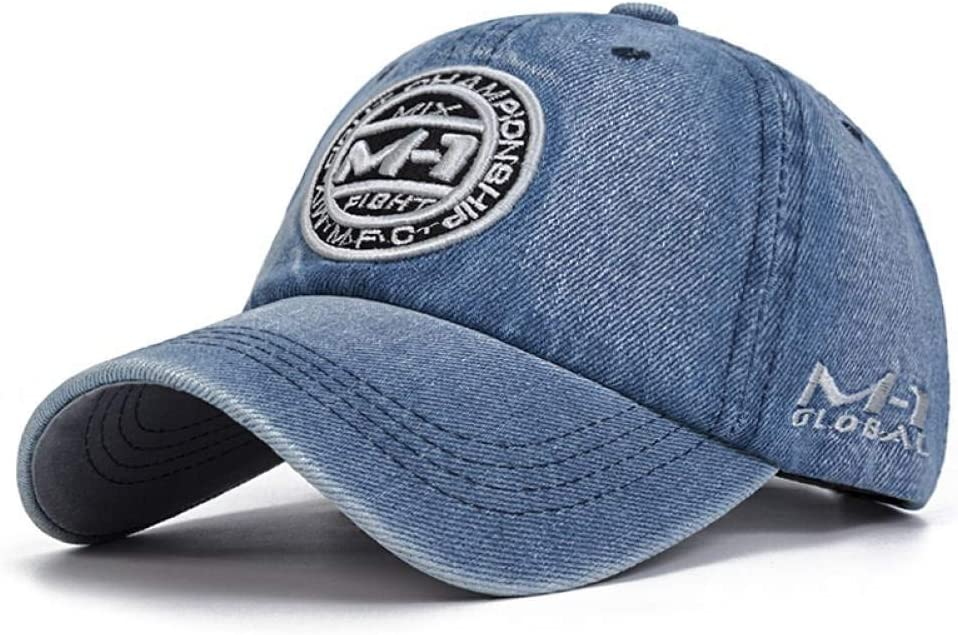 ZSOLOZ Baseball Caps New Design Denim Washed Baseball Cap Men Spring Summer Sport Hats Unisex Embroidery Hip Hop Cap Women Bone Chapeu