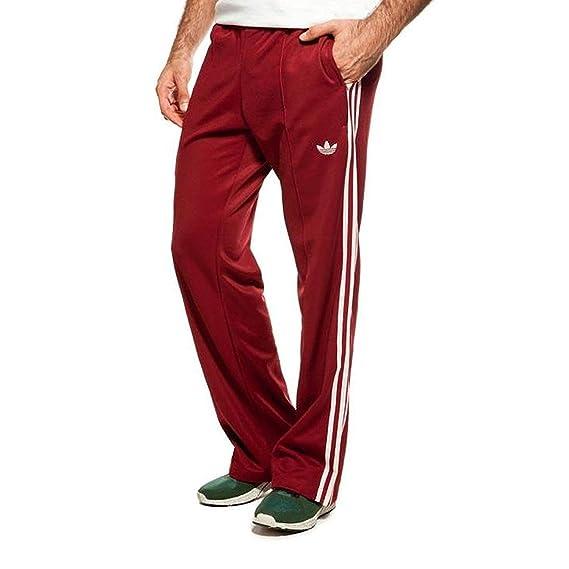 e1aa8128a53f0 adidas Originals Beckenbauer Tp Pantalon de Survêtement Pantalon Pantalon  Sport Vin Rouge Bordeaux: Amazon.fr: Vêtements et accessoires